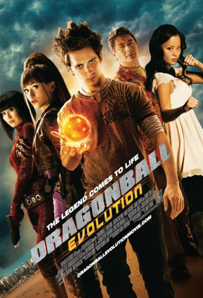 2009 et ces meilleur films Dragonball-evolution